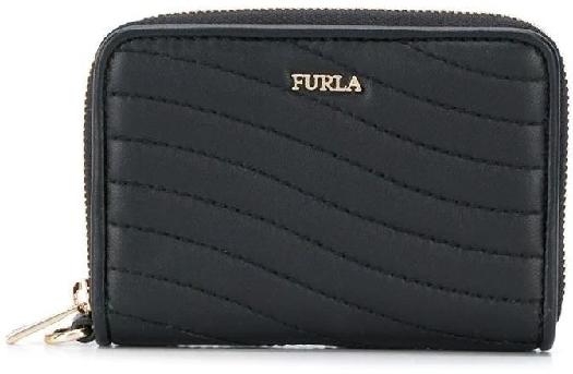 Furla Swing S Ziparound Wallet, Black 1046771