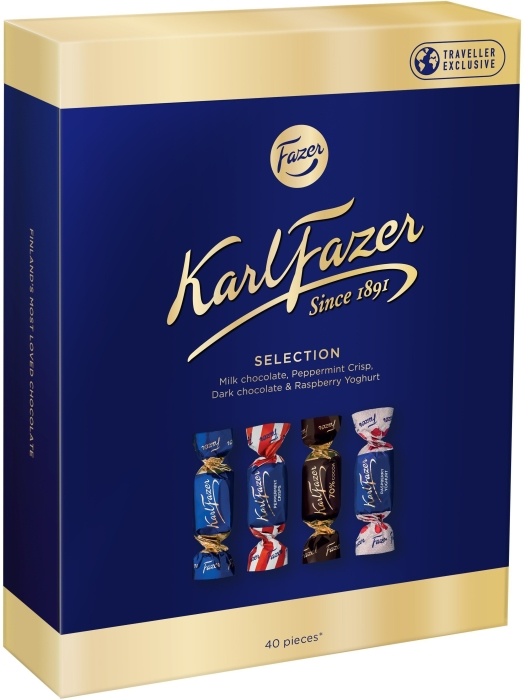 Karl Fazer Selection Travel Box 295g