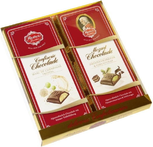 Reber Confiserie Chocolate Bars 400g