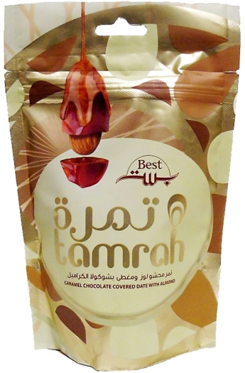 Tamrah Caramel Cocolate Dates with Almond 100g