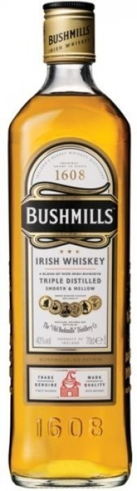 Bushmills Original Irish Whiskey 0.5L