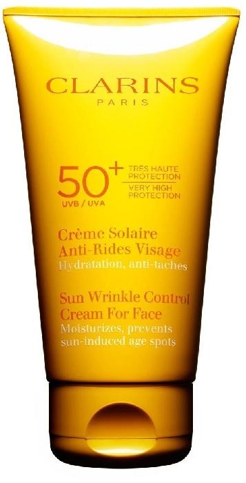Clarins Sun Wrinkle Control Cream For Face UVA/UVB 50+ 75ml