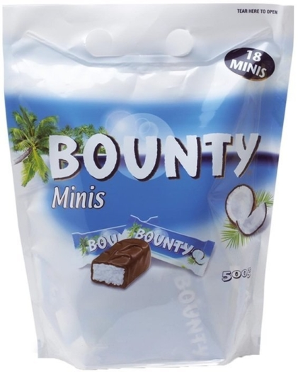 Mars Bounty Minis Pouch 500g