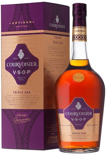 Courvoisier Artisan VSOP Triple Oak 40% 1L