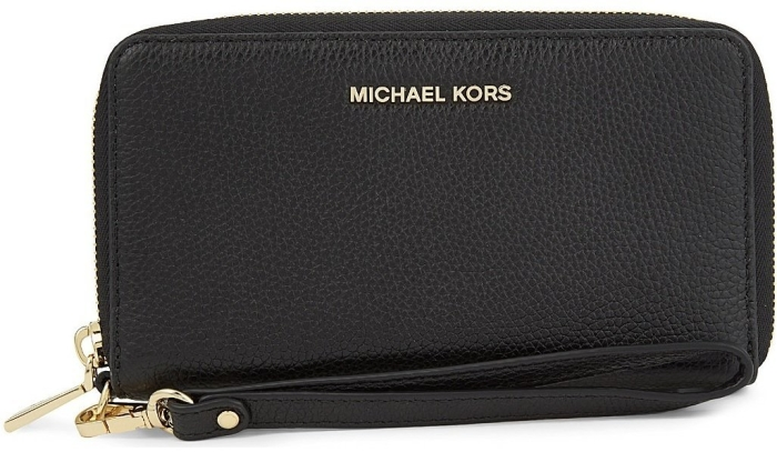 Michael Kors Mercer Large Leather Phone Case