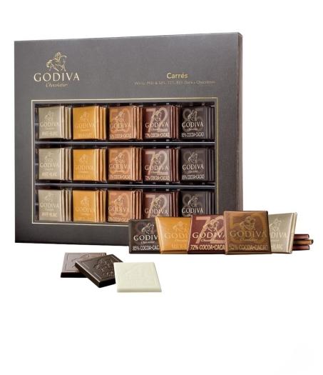 Godiva Carrés Full Range 310 g