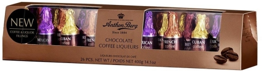 Anthon Berg Chocolate Coffee Liqueurs 26 pcs 400g
