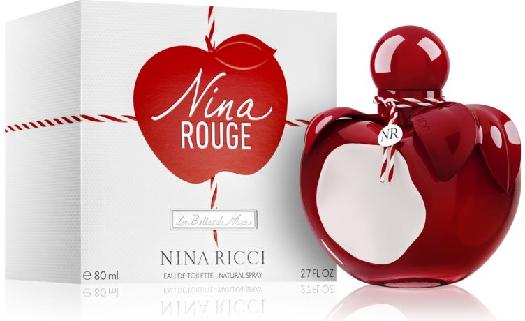 Nina Ricci Nina Rouge Eau de Toilette 65155039 80ML