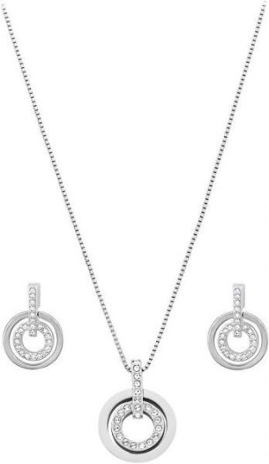 Swarovski Crystal Layla Necklace Earring Set 861335