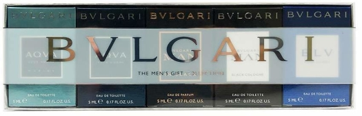 Bvlgari Set 5 Miniatures Men 2016 5 x 5 ml