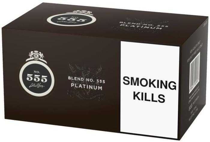 State Express 555 Platinum 200s Carton