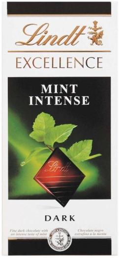 Lindt Excellence Mint 100g
