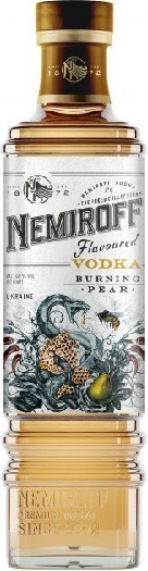 "Nemiroff ""Burning Pear"" De Luxe 40% 1L"