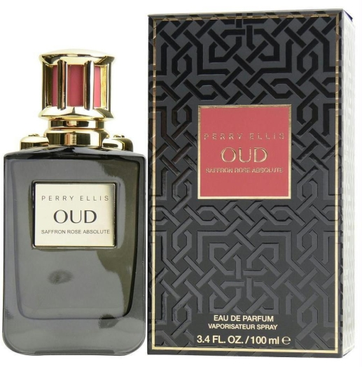 Perry Ellis Oud Saffron Rose 100ml