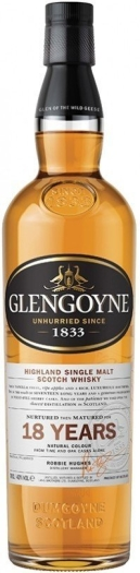 Glengoyne 18 Year Old 40% Whiskey 1L