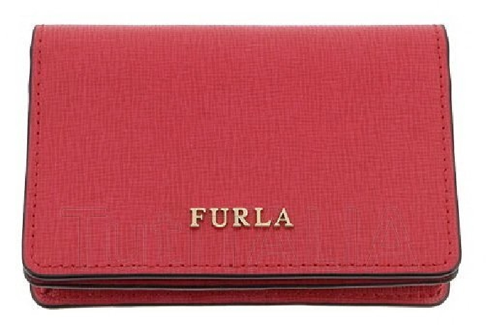 Furla Card holder Babylon 903652 Red