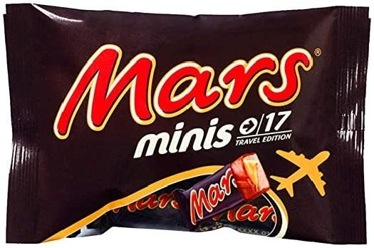 Mars Minis Bag 387227 333g