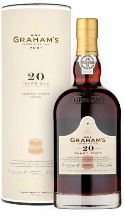 Graham's 20 Year Old Tawny Port 0.75L