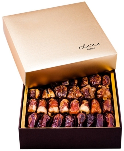 Bateel Gold Box Medium Mix Dates 1kg
