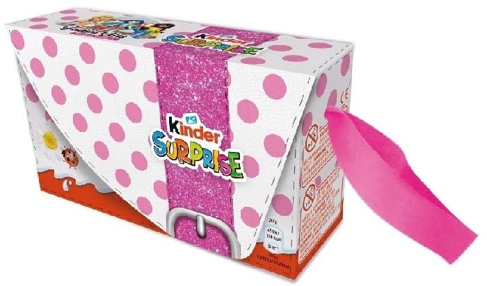 Kinder Surprise Girls 3 Eggs 60g