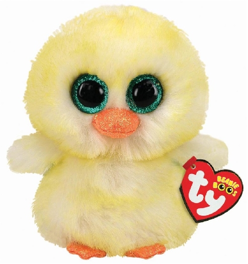 Ty 36316 Lemon Drop Chick Beanie Boo Reg