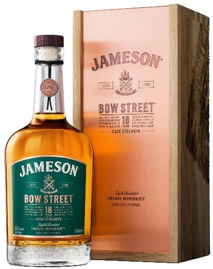 Jameson 18 yo Bow Street 55.3% 0.7L