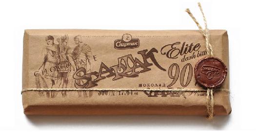 Spartak Elite Dark Bitter Chocolate 90% Cocoa 500g