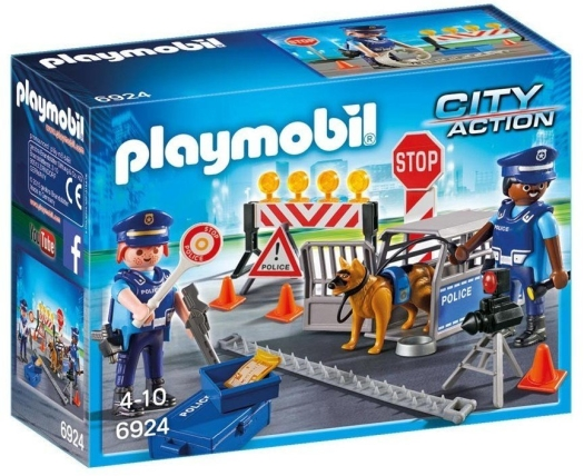 Playmobil City Action 6924 Roadblock