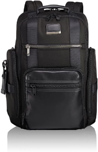 Tumi ALPHA BRAVO Men`s Backpack, Black 0232389D