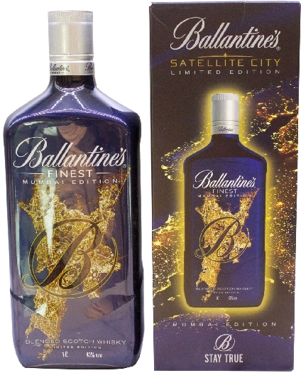 Ballantine's Satellite City Mumbai Limited Edition 43% 1L