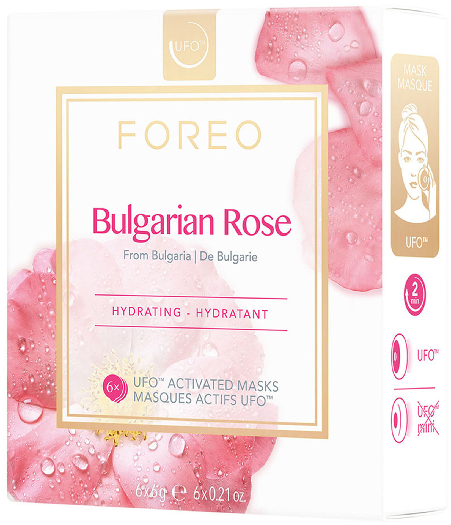 Foreo UFO Mask Bulgarian Rose for dry type of skin