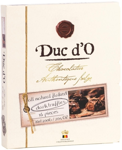 Duc d'O Truffles dark box 200g