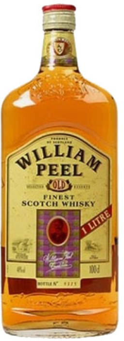 William Peel Finest Blended Scotch