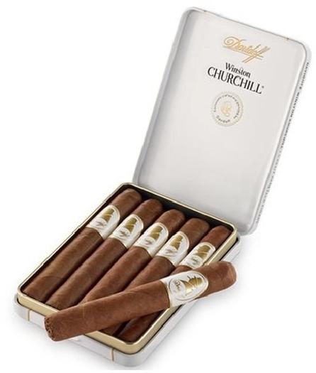 Davidoff Winston Churchill Petite Panatela 5s