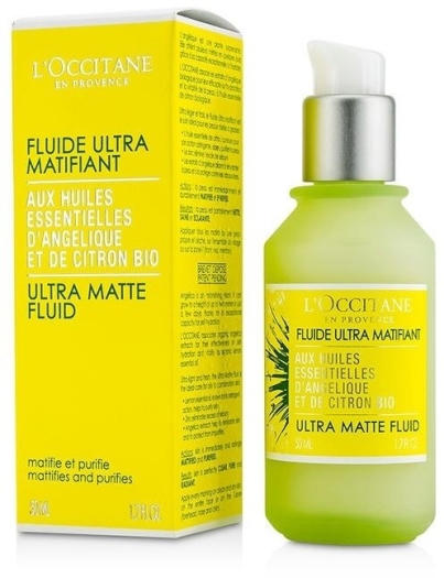 L'Occitane en Provence Angelica Ultra Matte Face Fluid 50ml