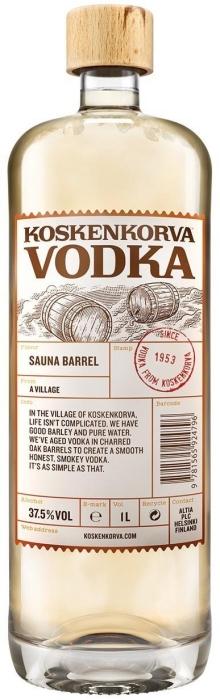 Koskenkorva Sauna Barrel 37.5% 1L