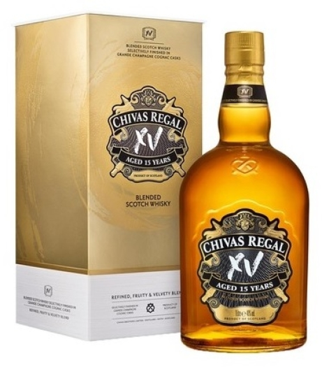 Chivas Regal XV Blended Scotch Whiskey Gift Pack 1L