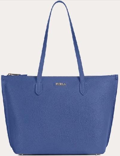 Furla Luce L Tote, Blue 1049152