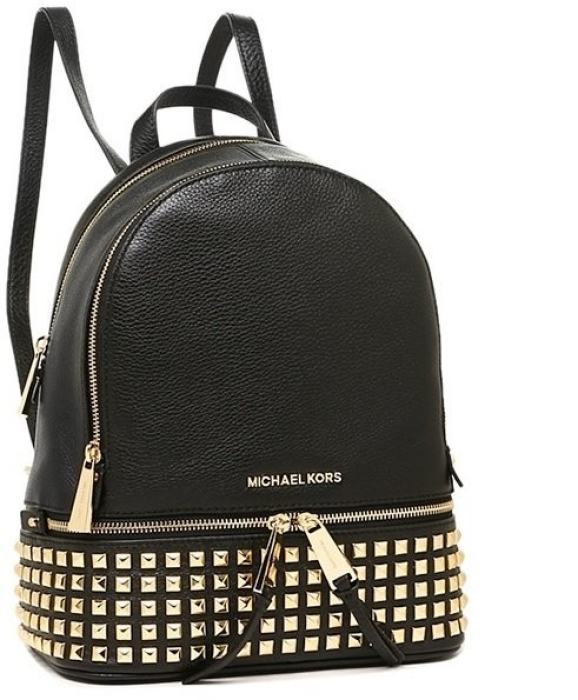 2878c74338f55 Michael Kors Rhea Medium Studded Leather Backpack in duty-free at ...