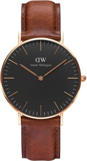 Daniel Wellington DW00100136 36 Classic Black St Mawes