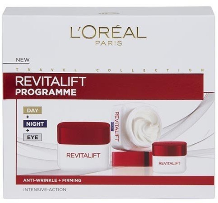 L'Oreal Revitalift Programme Set 50ml+50ml+15ml