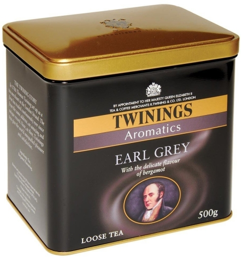 Twinings Earl Grey Tin 500g