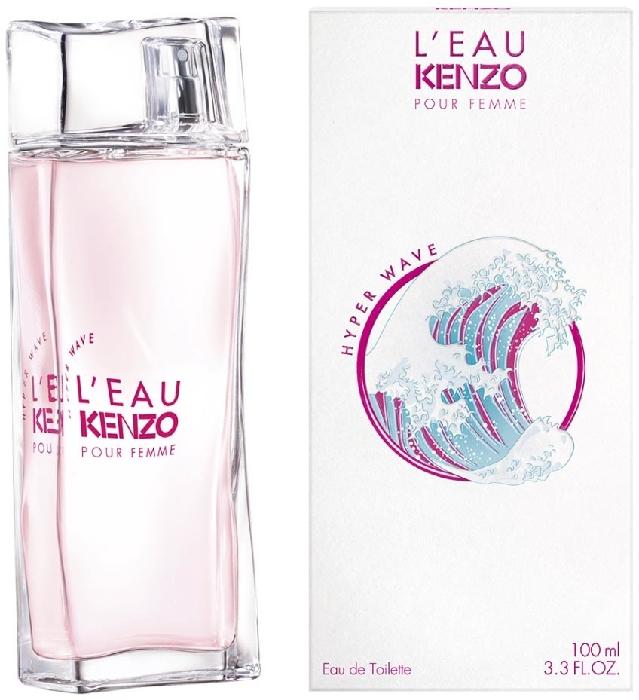 L'Eau Kenzo pour Femme Hyper Wave 100ML