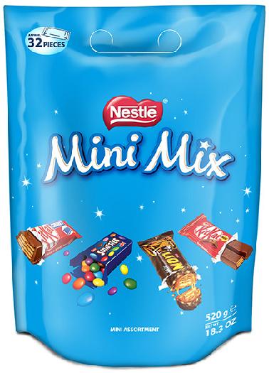 Nestle Mini Sharing Bag 520g