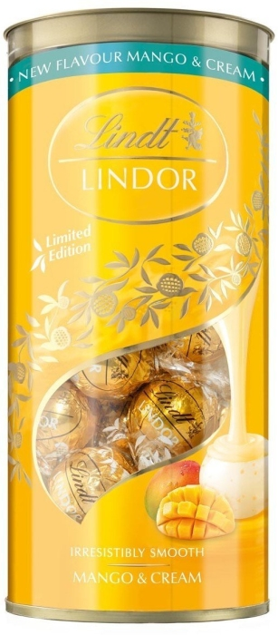 Lindt LINDOR Limited Edition Mango Cream 387g