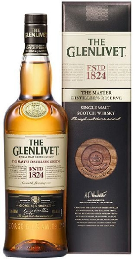 THE GLENLIVET THE MASTER'S DISTILLER'S RESERVE SINGLE MALT SCOTCH WHISKY 40%1L