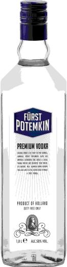 Furst Potemkin Blue 50% Vodka 1L
