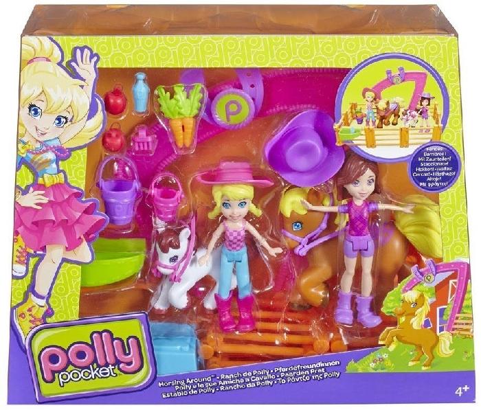 Polly Pocket CBW74 Horsin' around