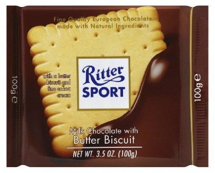 Ritter Sport Butter Biscuit 100g