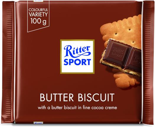 Ritter Sport Sport Butter Biscuit 100g